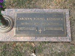 Carolyn <I>Young</I> Kunshick