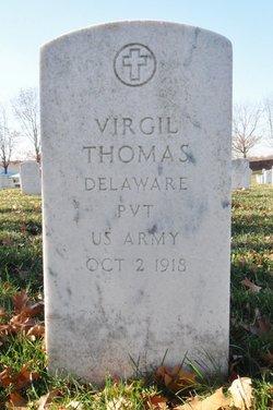 Pvt Virgil Thomas