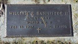 William Roland Bannister, II
