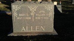 Mary Catherine <I>Finney</I> Allen