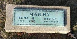 """Magdalena M """"Lena"""" <I>Schehl</I> Manny"""