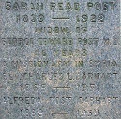 Rev Charles L. Carhart