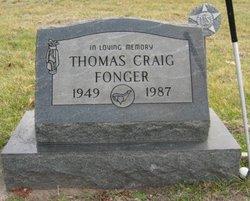 """Thomas Craig """"Tom"""" Fonger"""
