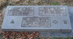 Dr James Morck Anderson