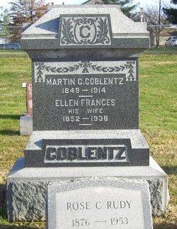 """Ellen Frances """"Ella"""" <I>Brandenburg</I> Coblentz"""