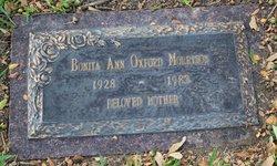 Bonita Ann <I>Oxford</I> Morrison