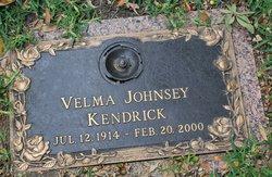 Velma <I>Johnsey</I> Kendrick