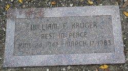 William F Kruger