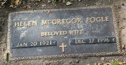 Helen Elizabeth <I>McGregor</I> Fogle
