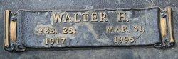 Walter H Brodie