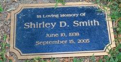 Shirley D Smith