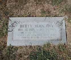 Betty Jean <I>Danner</I> Day