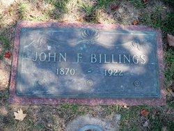 John F Billings