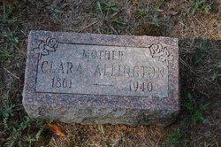 Clara <I>Barclay</I> Allington