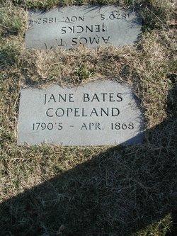 "Jeannie ""Jane"" <I>Bates</I> Copeland"