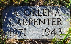 Alice Orlena <I>Fields</I> Carpenter