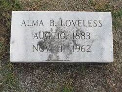Alma <I>Bagwell</I> Loveless