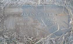 """Alvin Eugene """"Buck"""" Ivey"""