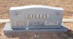 Clinton M Gillis