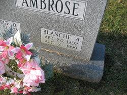 Blanch A <I>Ferry</I> Ambrose