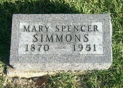 Mary Elizabeth <I>Bricker</I> Simmons