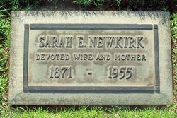 Sarah Ellen <I>Richardson</I> Newkirk