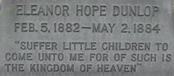 Eleanor Hope Dunlop