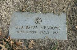 Ola <I>Bryan</I> Meadows
