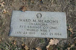 Ward M Meadows
