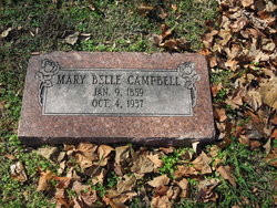 Mary Belle <I>Alexander</I> Campbell