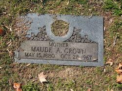 Maude A <I>Mason</I> Crown
