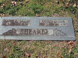 Annette <I>Ostrander</I> Shearer