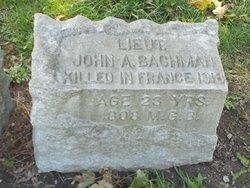 John A Bachman