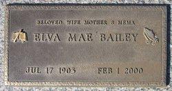 Elva Mae <I>Foree</I> Bailey