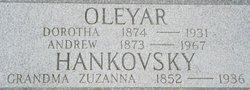 Dorotha <I>Hankovsky</I> Oleyar