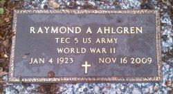 Raymond Arthur Ahlgren
