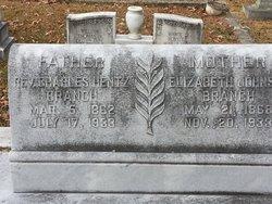 Rev Charles Hentz Branch, Sr