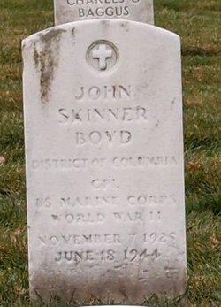 CPL John Skinner Boyd