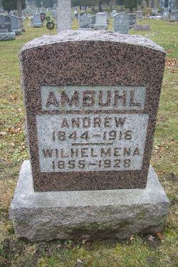 "Wilhelmena ""Minnie"" <I>Klavitter</I> Ambuhl"