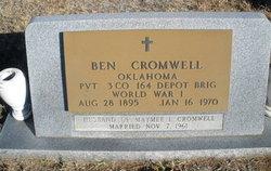 "Benjamin ""Ben"" Cromwell"