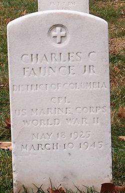 CPL Charles C Faunce, Jr