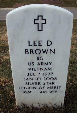 Lee D Brown