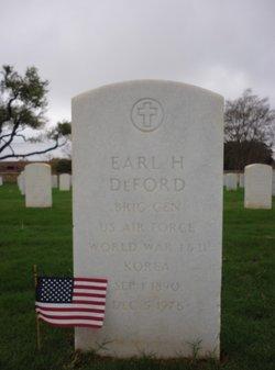 BG Earl Hamlin DeFord