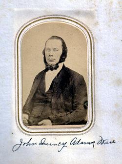 Rev John Quincy Adams Ware