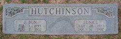 """John Bunyan """"J Bun"""" Hutchinson"""