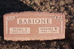 Pearl Fannie <I>Petty</I> Babione