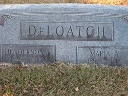 Maria A <I>Drake</I> DeLoatch