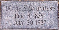 "Harriet Jane ""Hattie"" <I>Straw</I> Saunders"
