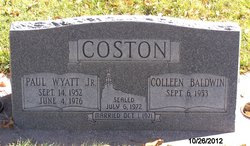 Paul Wyatt Coston, Jr