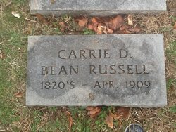 Carrie Delana <I>Copeland</I> Bean - Russell
